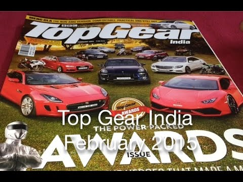 Top Gear India Magazine   February 2015