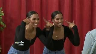 TikTok stars Lauren & Lara show us a fun lip-sync!