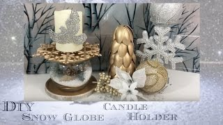 DIY WINTER DECOR DOLLAR TREE STYLE | COLLAB | GIFT BASKET APPEAL