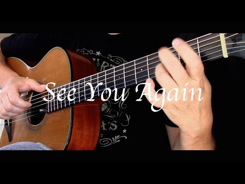 Kelly Valleau - See You Again Ft. Charlie Puth (Wiz Khalifa) - Fingerstyle Guitar