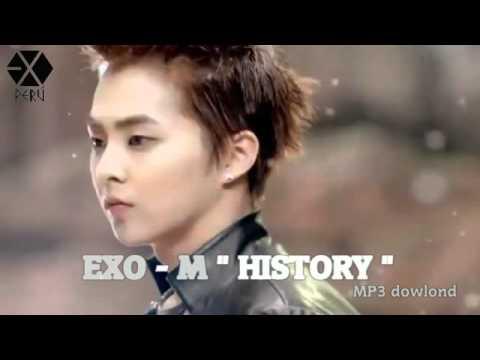 """[AUDIO/Descarga] EXO-M """" HISTORY"""" mp3"""