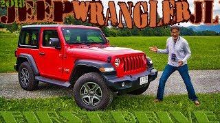 Jeep Wrangler JL 2018 First Drive - Dubai cars in Austria Mudplugging