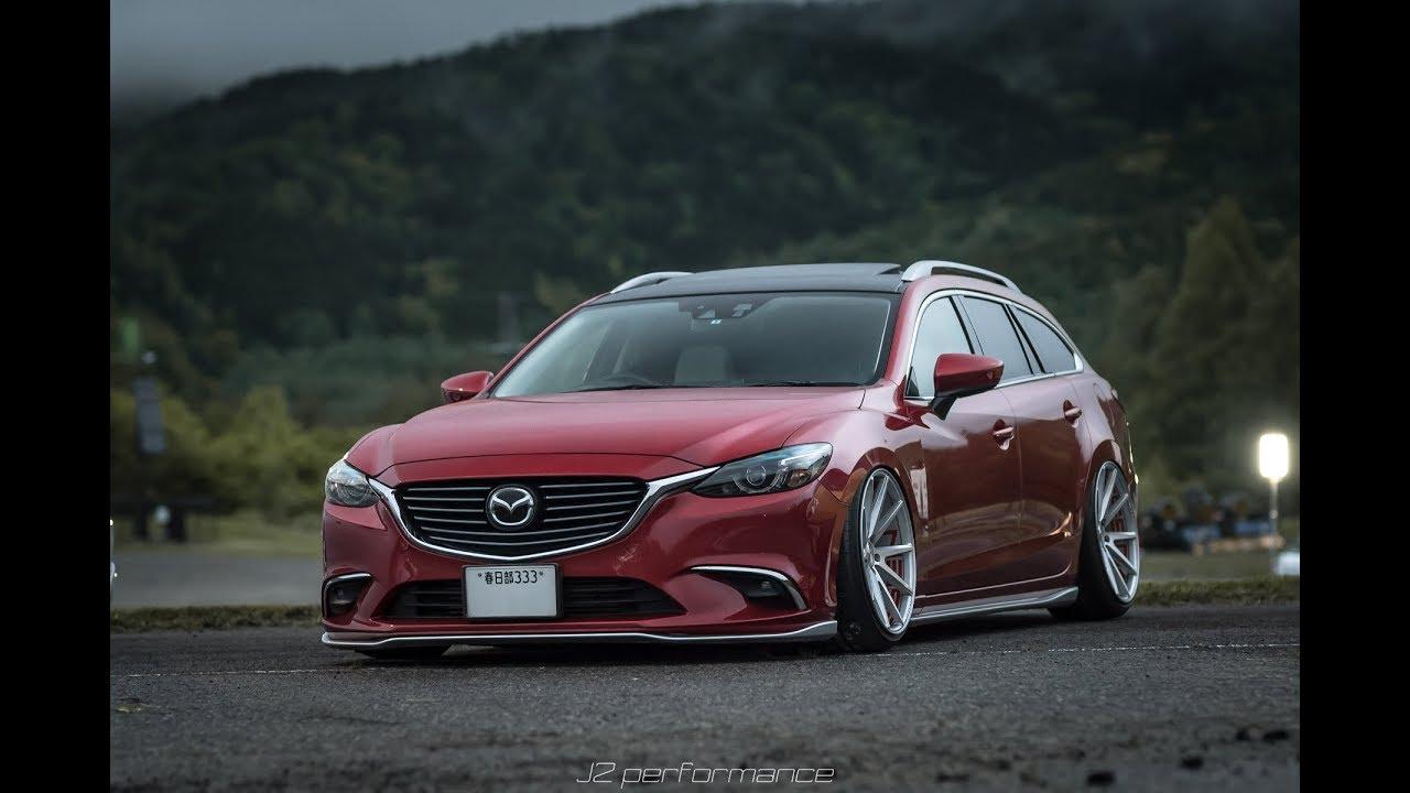 Mazda6 Atenza Wagon Vossen 20 Quot Vfs1 Youtube