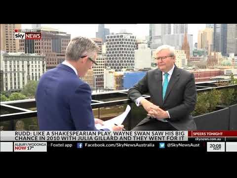 Kevin Rudd on Speers Tonight