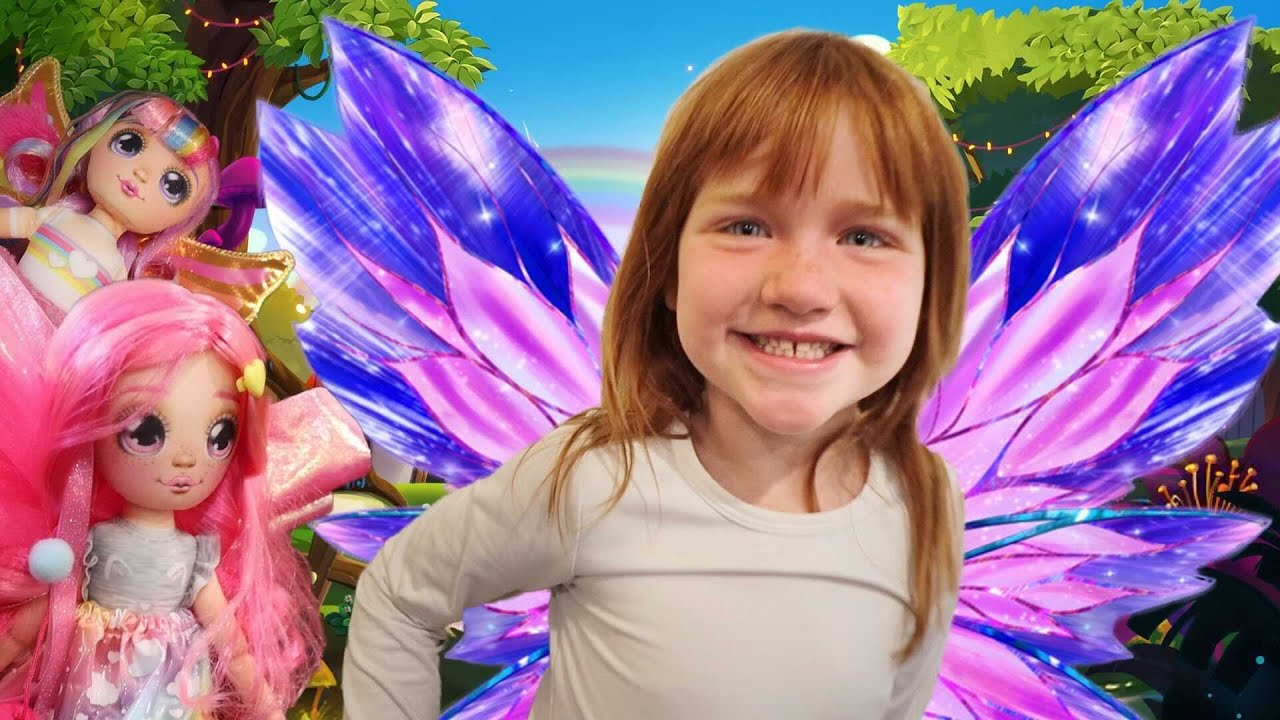 Adley has a FAIRY DREAM🧚♀️ Finding 3 magic fairies hidden inside the house with Mom and Dad!