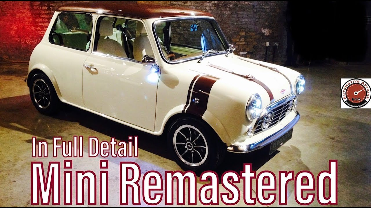 This Resto Mod Mini Is Worth As Much As A New Jaguar F Type Svr