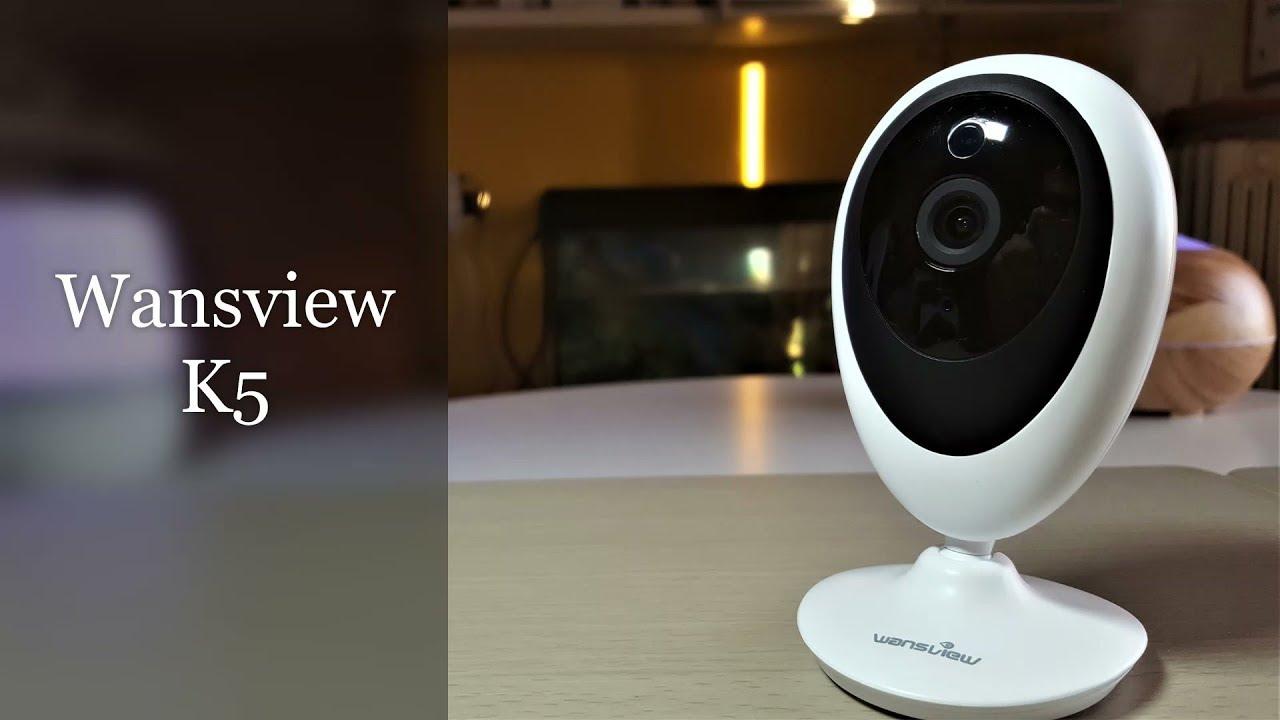 Ip Camera Wansview K5 Economica che si connette ad ALEXA!
