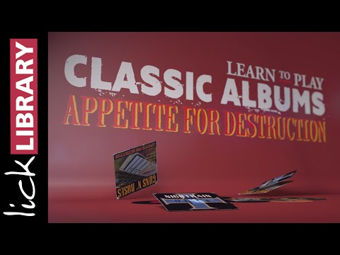 Guns N' Roses Appetite For Destruction Guitar Lessons