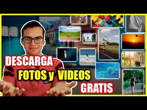 Las 4 mejores paginas para DESCARGAR IMAGENES Y VIDEOS GRATIS ✅🖼️  (libres de derechos de autor)