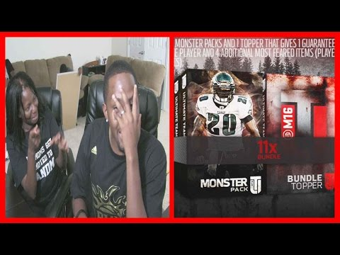 MOM VS SON PUBLIC HUMILIATION WAGER!! - MUT 16 PACK OPENING