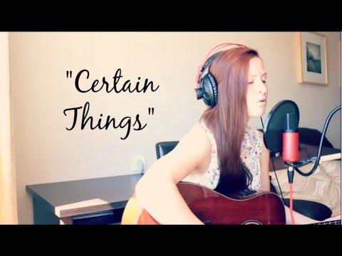 Certain Things Cover - James Arthur | Jana Kesvatera (Acoustic)