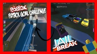 THE NEW JAILBREAK CHALLENGE!!! ROBLOX LATIN ENGLISH