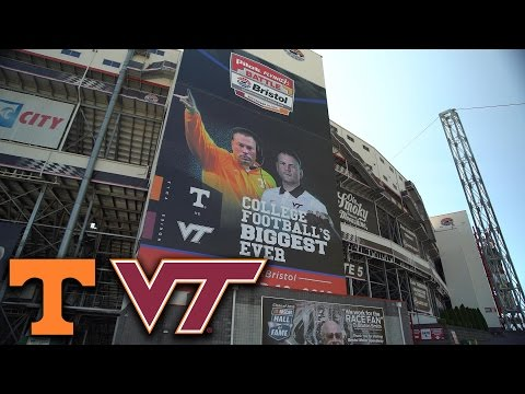 Virginia Tech, Tennessee Ready to Roll In Battle At Bristol