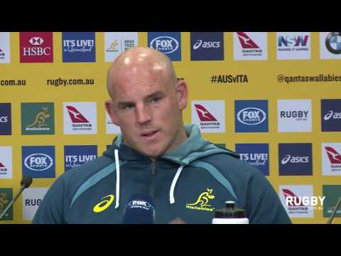 Full Press Conference: Cheika and Moore