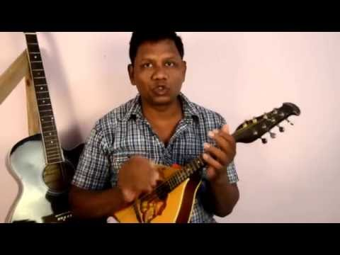 how to practice D -scale on Mandolin in hindi/ learn mandolin/ mandolin open position D-scale