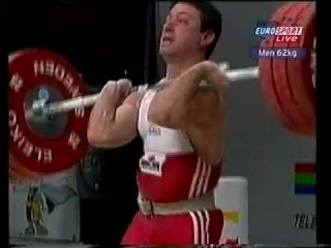 2002 World Weightlifting 62 Clean and Jerk.avi