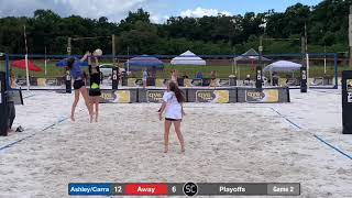 Ashley Vincent 2022 S3 Beach Volleyball Atlanta AVP First Zonal Tampa April 20&21 2019