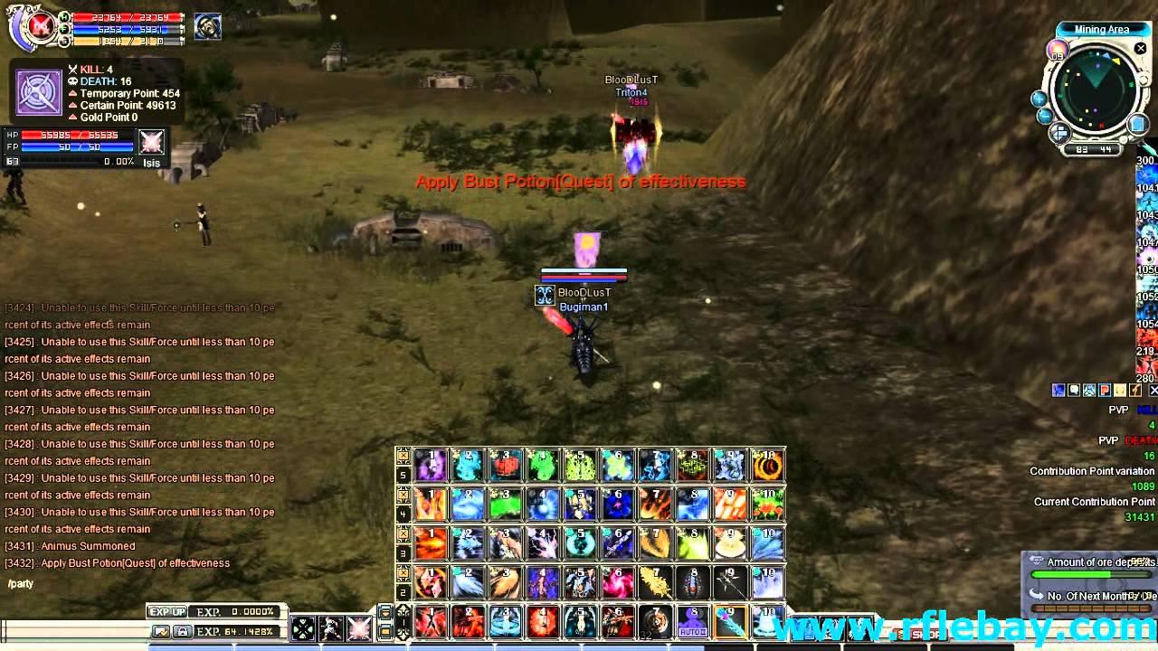 game rf online lebay