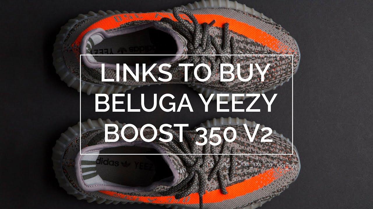YEEZY Boost 350 V2 Zebra Store Listing