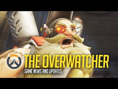 The Overwatcher - Overwatch News Show! Torbjorn and Bastion Nerfs INC!