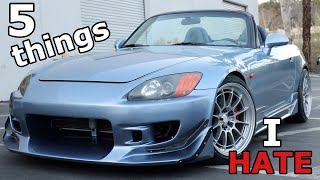 5 Things I Hate About My S2000