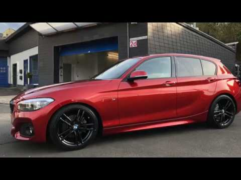 Bmw 1er F20 Sunset Orange Detailing Paddy Poliert Ps