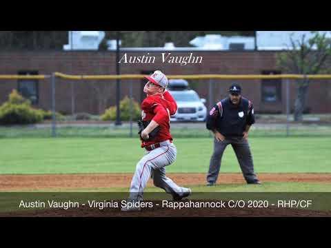 Austin Vaughn - Virginia Spiders 2019 -Rappahannock High School C/O 2020 - RHP/CF - Recruiting Video