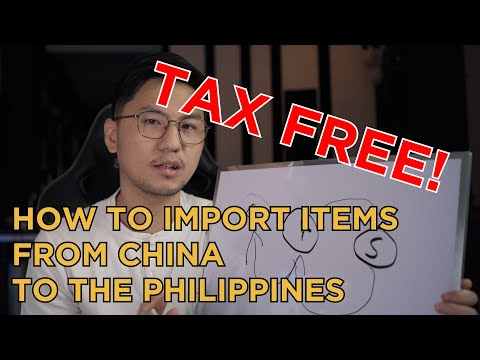 The Right Way To Import Items from China to The Philippines (FREE FROM CUSTOMS AND DUTIES)