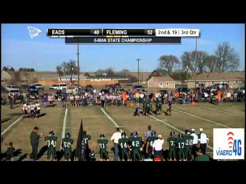 2012 CHSAA 6-Man State Football Championship:  Eads at Fleming