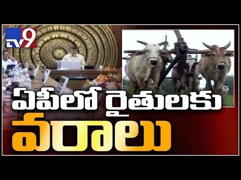 AP government to introduce Rythu Raksha for Farmers - TV9