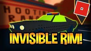 Invisible Rim Glitch! | Tutorial | Roblox : Jailbreak