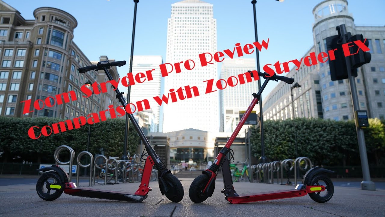 Zoom Stryder Pro Review New Electric Scooter from Zoom Stryder! & Comparision with Zoon Stryder EX