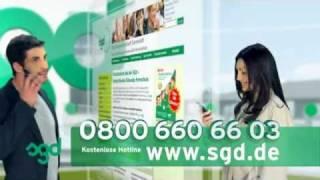 DRTV-Spot - SGD Studiengemeinschaft Darmstadt - Greenbox mit Realdreh