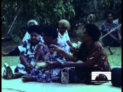 Ratu Epeli Nailatikau and Adi Koila's Wedding