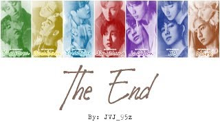Gambar cover GOT7(갓세븐) - The End (Colour Coded Lyrics Han/Rom/Eng)