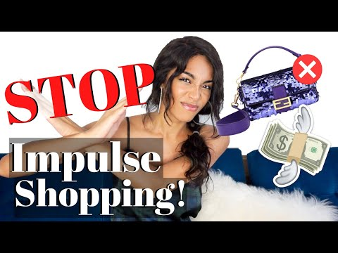STOP IMPULSE SHOPPING *10 ways* KWSHOPS