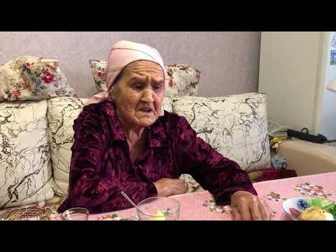 Бабушка 91год,поёт на татарском