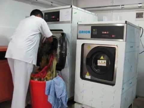 Bachelor's Button Live dry cleaning first time in Pakistan DHA Khadda Market Karachi.wmv