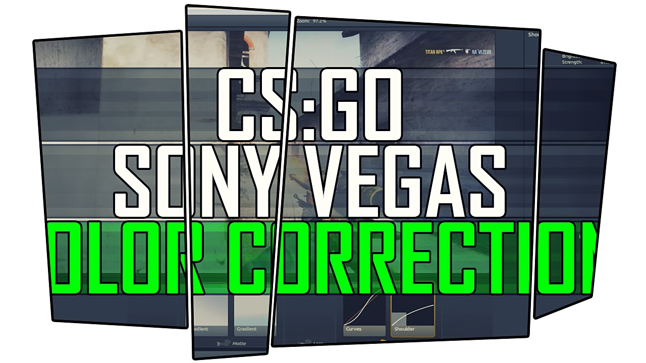 CSGO. Sony Vegas Color Correction. - YouTube