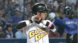 片岡安祐美選手と中日岩田投手の対決です!