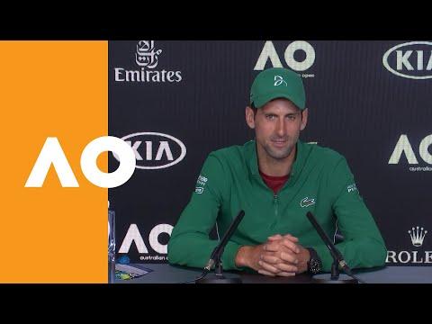 "Novak Djokovic: ""Today Was A Good Test"" | Australian Open 2020 Press Conference R4"