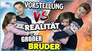 VORSTELLUNG vs. REALITÄT - Großer Bruder 😍 😈  Lulu & Leon - Family and Fun
