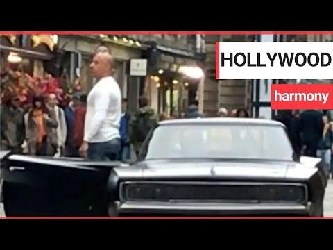 Vin Diesel Sings With Film Fans In Edinburgh | SWNS TV