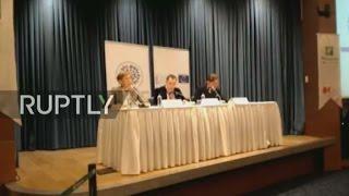 LIVE  OSCE holds press conference on Turkey's constitutional referendum