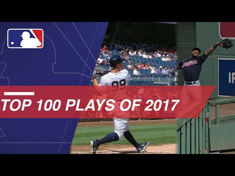 Check out the top 100 plays from 2017