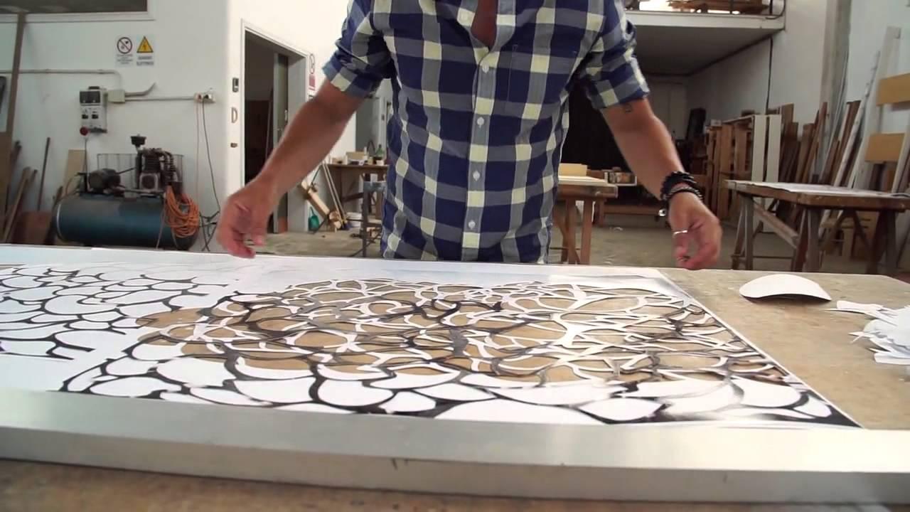 Papercraft Marco Gallotta Paper-Cutting Techniques