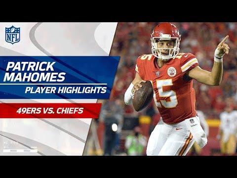 Every Patrick Mahomes Play vs. San Francisco | 49ers vs. Chiefs | Preseason Wk 1 Player Highlights