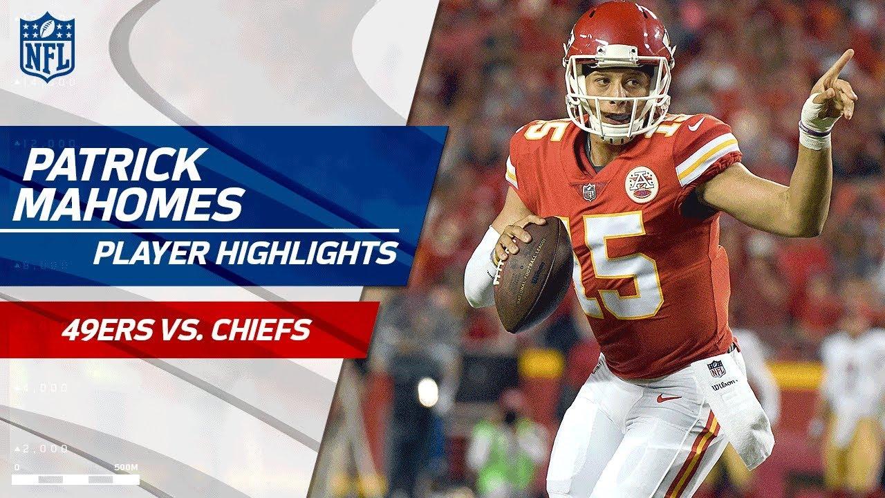 8b13bed1 Every Patrick Mahomes Play vs. San Francisco | 49ers vs. Chiefs | Preseason  Wk 1 Player Highlights