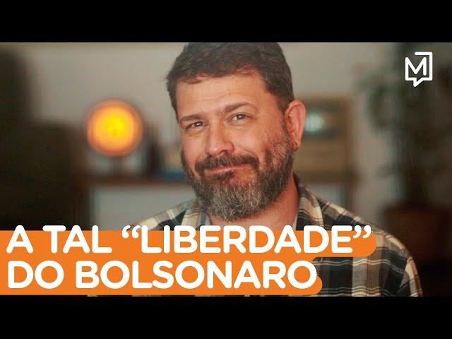 """A tal """"liberdade"""" do Bolsonaro I Ponto de Partida"""