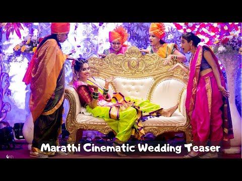 | Ankita & Hitesh | Marathi Cinematic Wedding Teaser | 2019 | Pune Maharashtra